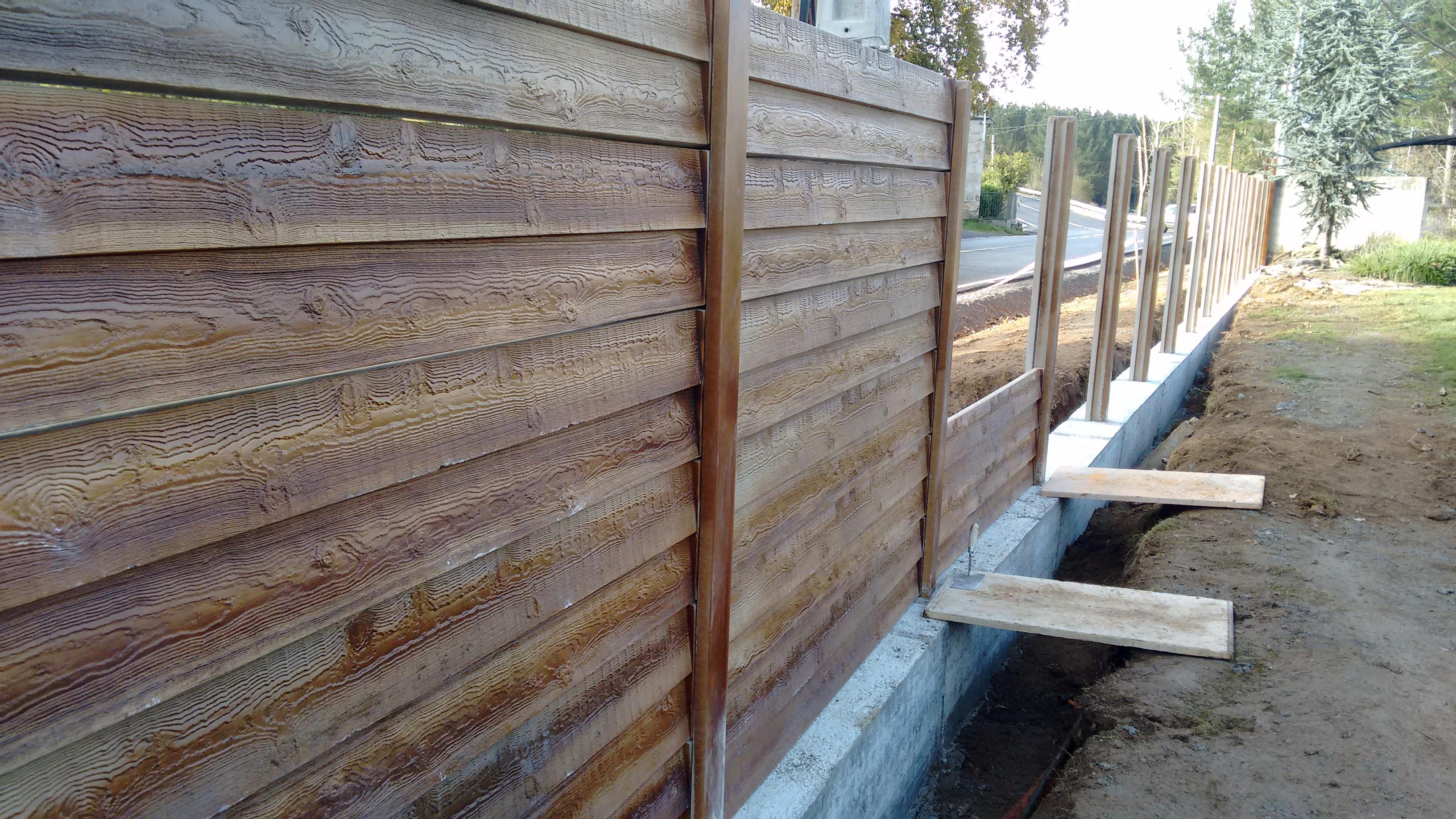 Cierres prefabricados de hormigon materiales para la - Cierres de madera ...